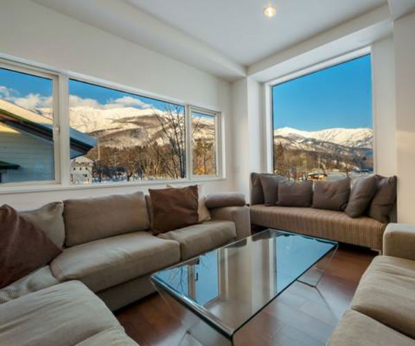 Hakuba`s most luxurious self contained accommodations